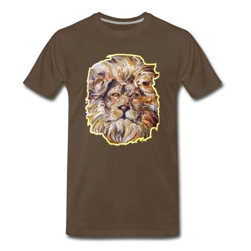 Sun Lion - Men's Premium T-Shirt
