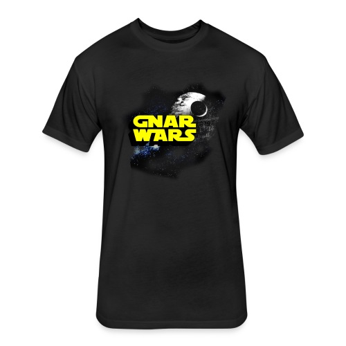 Gnar wars  - Fitted Cotton/Poly T-Shirt by Next Level