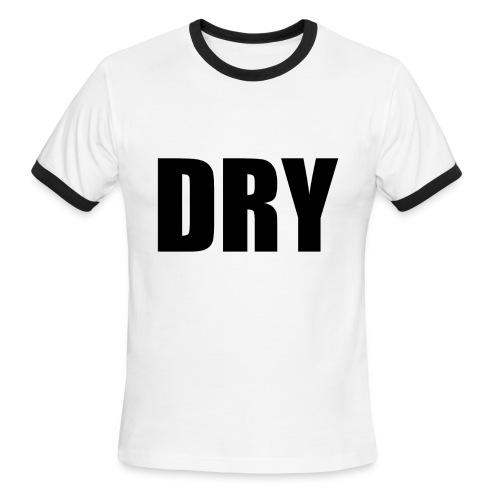 Mens White Dry Tshirt - Men's Ringer T-Shirt