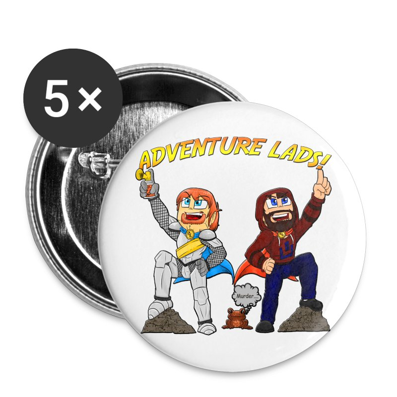 Adventure Lads Buttons - Small Buttons