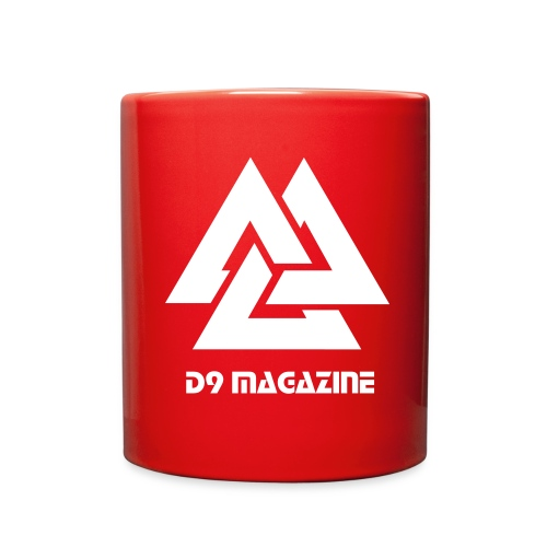 D9 Red Coffee Cup - Full Color Mug