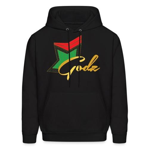 Santa Flora Godz Hoodie (BLACK) - Men's Hoodie