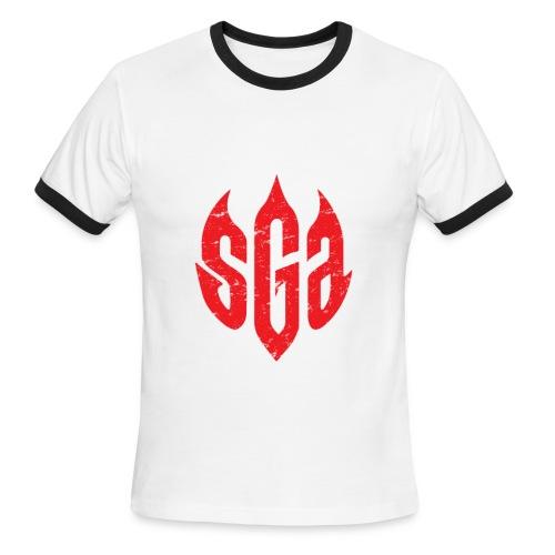 SmashGame Branding 101 Ringer Tee - Men's Ringer T-Shirt