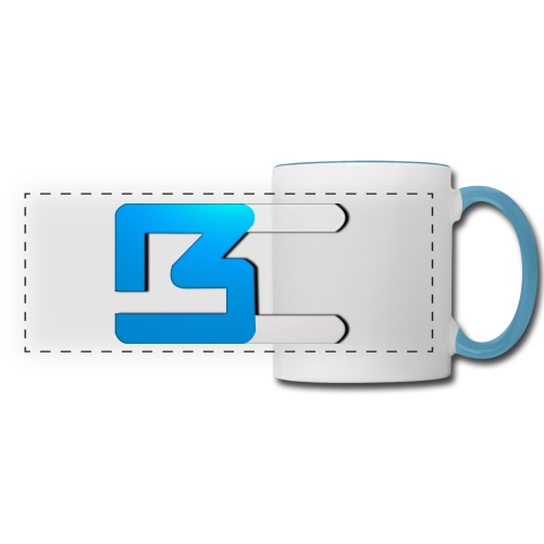 BC Coffee Cup White/Blue - Panoramic Mug