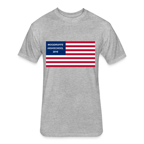 Woody USA 2016 - Fitted Cotton/Poly T-Shirt by Next Level