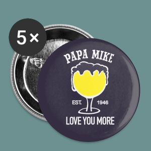 BUTTON- Papa Mike - Large Buttons