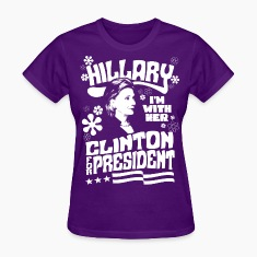 Hillary Clinton I'M WITH HER t shirt