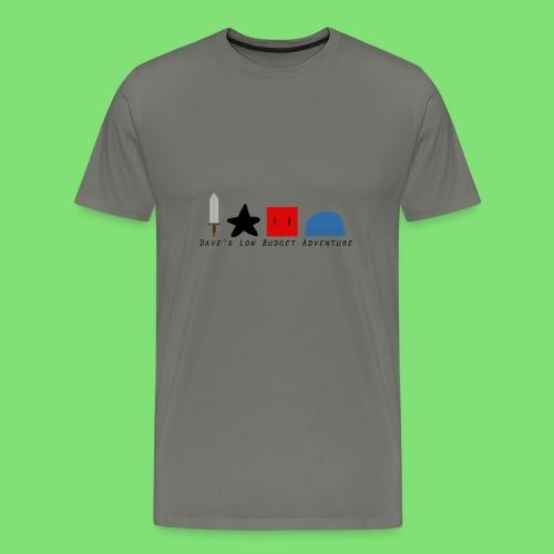 Dave's Low Budget Adventure - Men's Premium T-Shirt