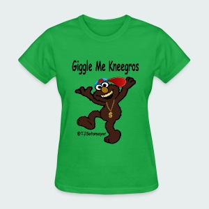 Giggle Me Blk - Women's T-Shirt