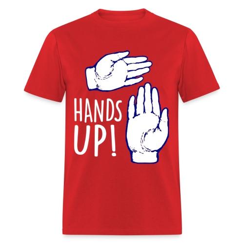 Hands Up! Michigan Swag T-Shirt - Men's T-Shirt
