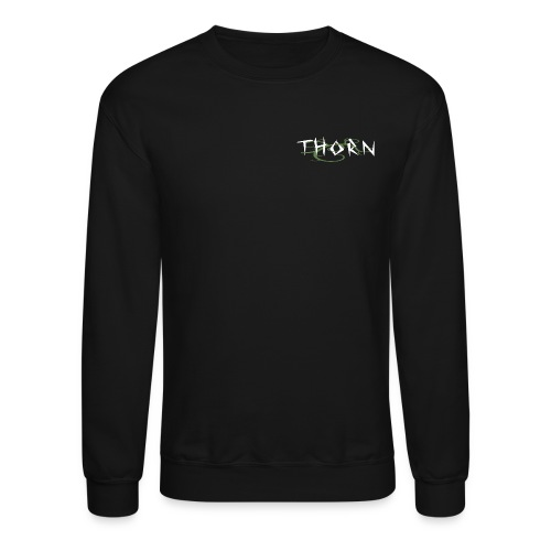 Thorn Crew. - Black - Crewneck Sweatshirt