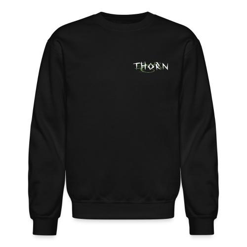 Thorn Crew. - Black - Crewneck Sweatshirt