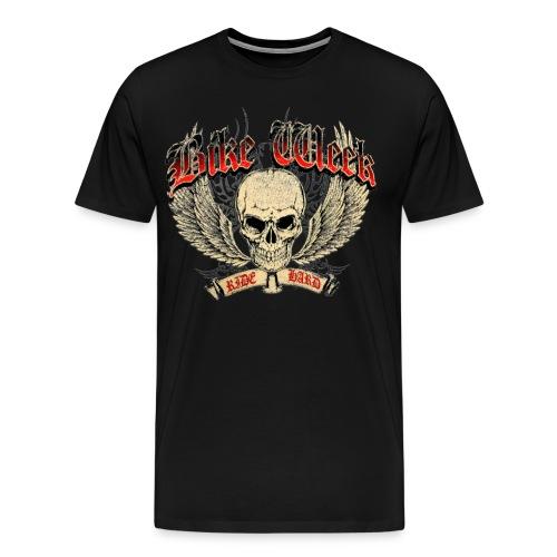 Bike Week Ride Hard Biker T-Shirt - Men's Premium T-Shirt