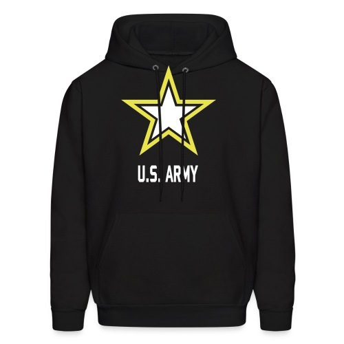 US Army Hoddie black man - Men's Hoodie