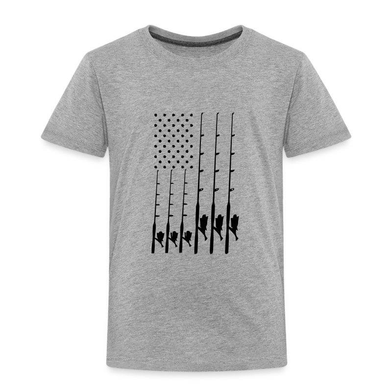 Fishing flag t shirt spreadshirt for Toddler fishing shirts