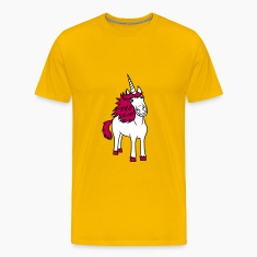 pink unicorn beautiful pony girls, kids design T-Shirts