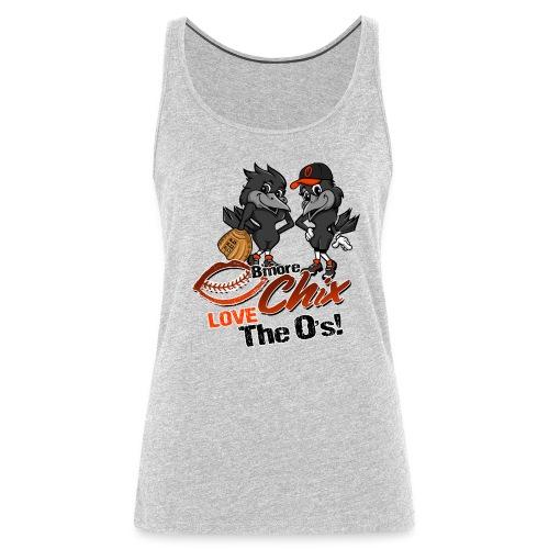 Chix Love the Birds - Women's Premium Tank Top