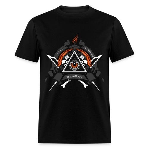 DF13 Illuminati Skull Tee - Men's T-Shirt