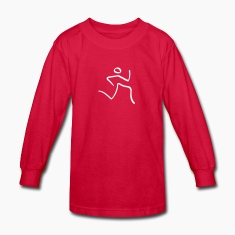 Athletics Running Pictogram Kids' Shirts
