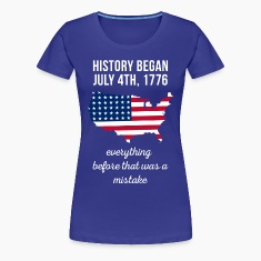 American History  State T-shirt Women's T-Shirts