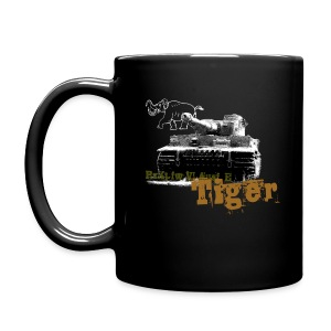 Tiger I Armor Journal coffee mug. - Full Color Mug