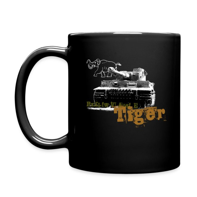 Tiger I Armor Journal coffee mug.
