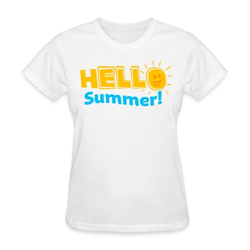 HELLO SUMMER Kreative in Kinder MP - Women's T-Shirt