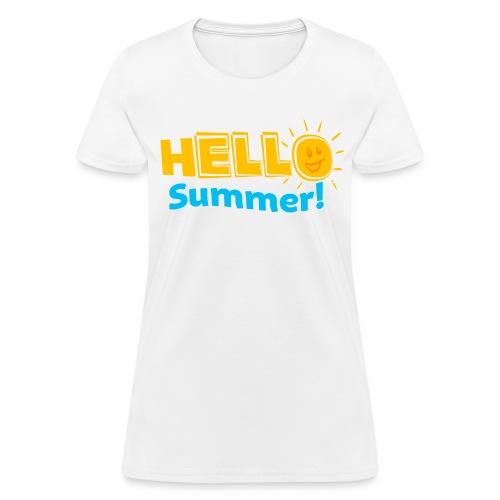 HELLO SUMMER Kreative in Kinder MP - Women's T-Shirt