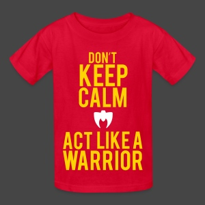 Ultimate Warrior Act Like A Warrior Kids Shirt - Kids' T-Shirt