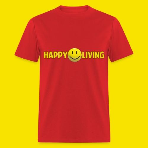 Happy Living Long logo - Men's T-Shirt