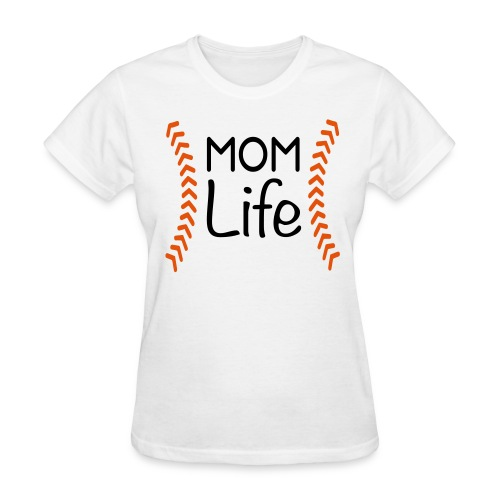 Mom Life Baseball Kreative in Kinder MP - Women's T-Shirt