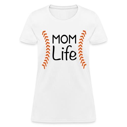 Mom Life Baseball Kreative in Kinder MP - Women's T-Shirt