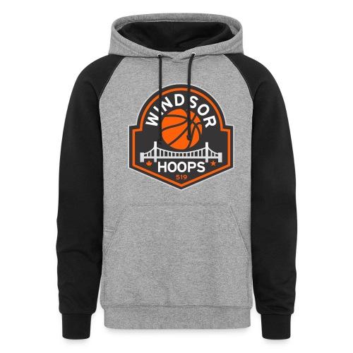 Windsor Hoops Men's Hoodie - Colorblock Hoodie