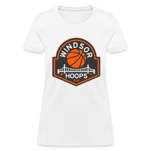 Windsor Hoops Women's T-shirt - WHITE - Women's T-Shirt