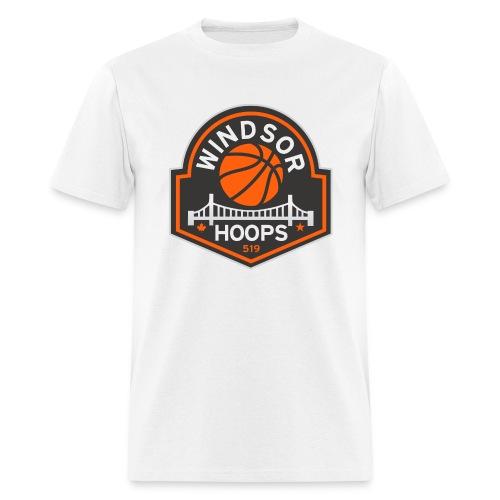 Windsor Hoops Men's T-Shirt - WHITE - Men's T-Shirt