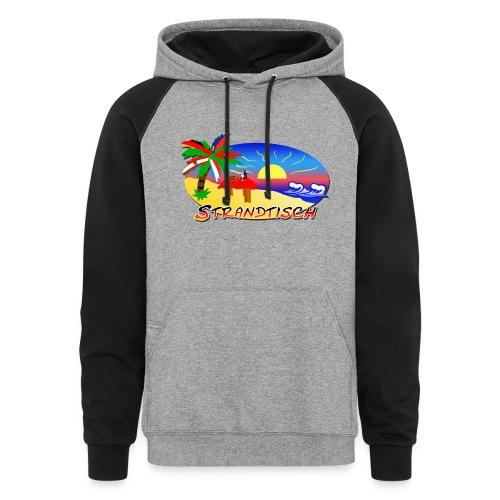 Strandtisch Hoodie - Colorblock Hoodie