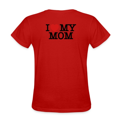Mothers day - i love mom - Women's T-Shirt