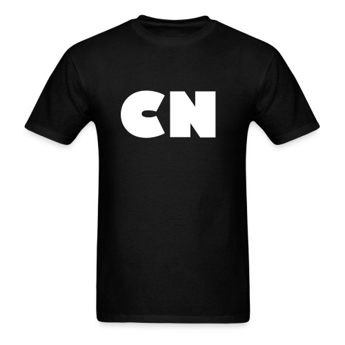 Mens Black CN Tshirt - Men's T-Shirt
