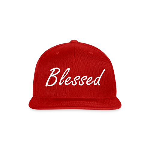Blessed Snapback Hat - Snap-back Baseball Cap