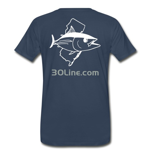 30 Line Productions NJ Tuna T-shirt - Men's Premium T-Shirt