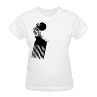 Afro Pick tee - Women's T-Shirt