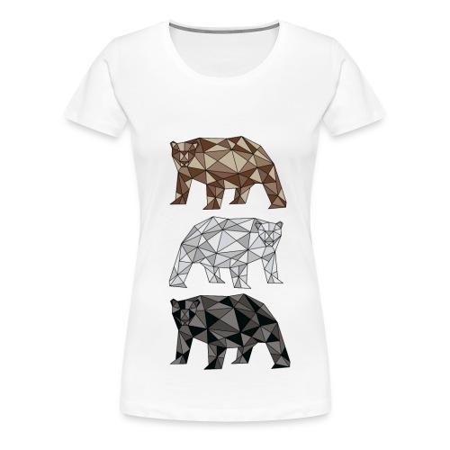 3bear Female - Women's Premium T-Shirt