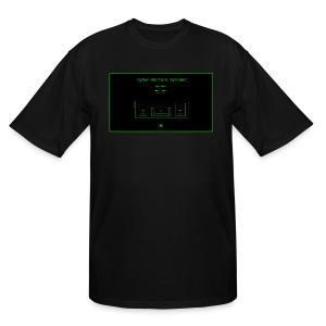 CyberWarX - Men's Tall T-Shirt