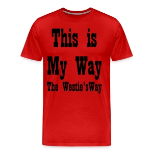 This is My Way Black - Men's Premium T-Shirt