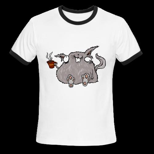 Butt Lazer, Men's Ringer T-Shirt  - Men's Ringer T-Shirt