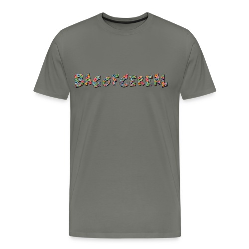 Bag of Cereal Shirt Medium - Men's Premium T-Shirt
