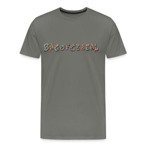 Bag of Cereal Shirt Medium - Men's Premium T-Shirt