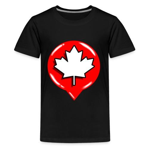 WCL BLACK TSHIRT MEN  - Kids' Premium T-Shirt
