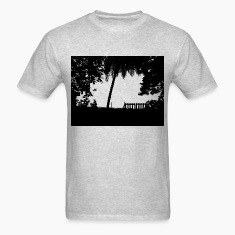 Nature in Dark. T-Shirt for Nature Lovers