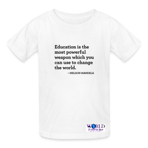 Mandela Quote Kids Tee - Kids' T-Shirt
